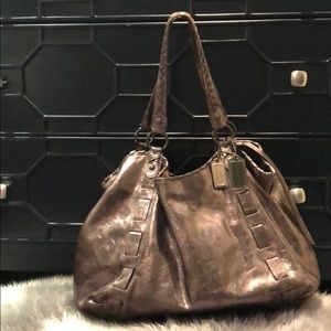 Coach Dylan Ltd. Edition Glazed Leather Tote